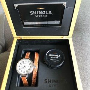 Women's Shinola Birdy Watch
